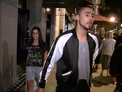 Kourtney Kardashian Hangs Out with Diddy's Son Quincy (VIDEO)