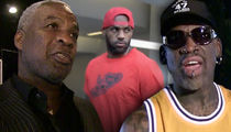Charles Oakley Attacks Dennis Rodman For LeBron James Comments