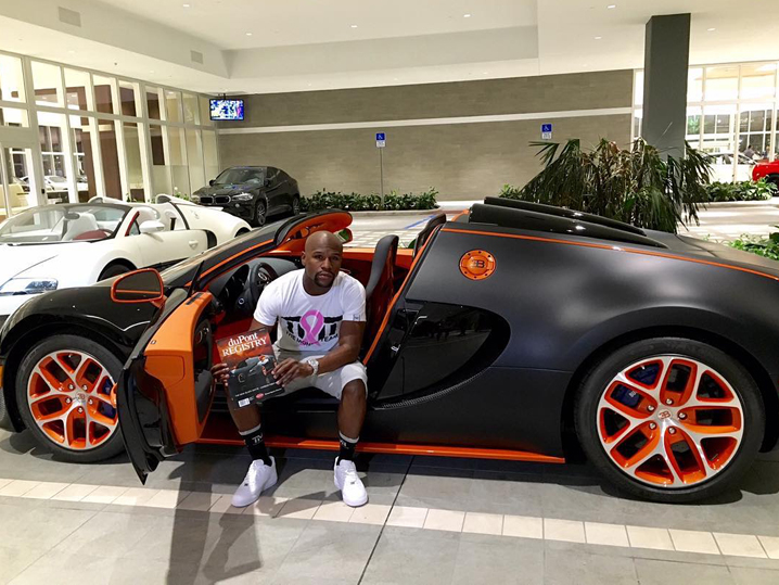 Floyd Mayweather's Bugatti For Sale with $3.95 Million Price Tag ...