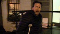 Ed Burns Suffers Basketball Injury, Can't 'Throw Down' at 49
