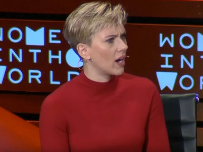 Scarlett Johansson Blasts Ivanka Trump as 'Cowardly' (VIDEO)