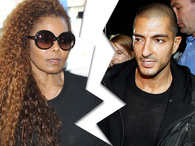 Janet Jackson Splits From Third Husband