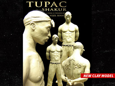 Tupac Shakur to Be Immortalized As 1,000 lb. Bronze Statue (PHOTOS)