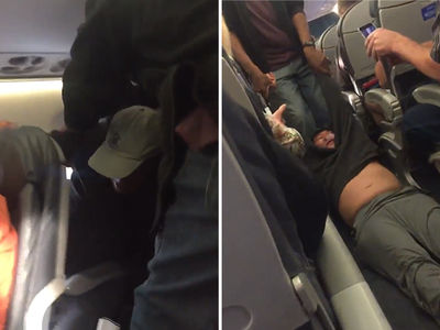 United Airlines Calls Cops Who Aggressively Remove Doctor Off Overbooked Flight (VIDEOS)