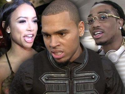 Chris Brown Says Migos' Quavo Betrayed Him by Dating Karrueche