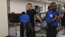 Christopher Walken Gets a TSA Pat Down in Atlanta (PHOTO)
