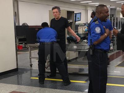 Christopher Walken Gets a TSA Pat Down in Atlanta (PHOTO)