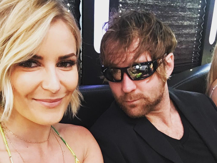 WWE Stars Dean Ambrose and Renee Young Got Married! | TMZ.com