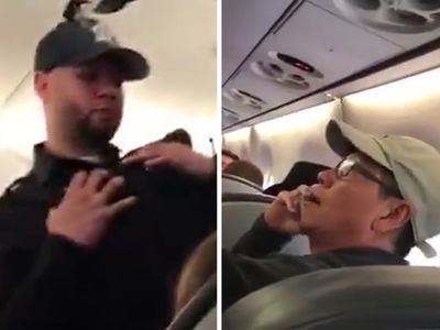 United Passenger Tells Cops to Drag Him Off Plane (VIDEO)