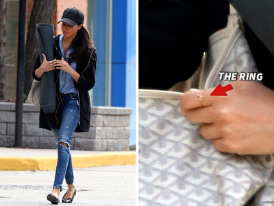 Meghan Markle New Bling Alert! Prince Harry Put A Ring On It (PHOTOS)