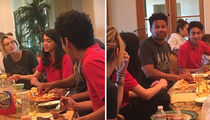 Paris Jackson Has Family Dinner with Brother Blanket (PHOTOS)