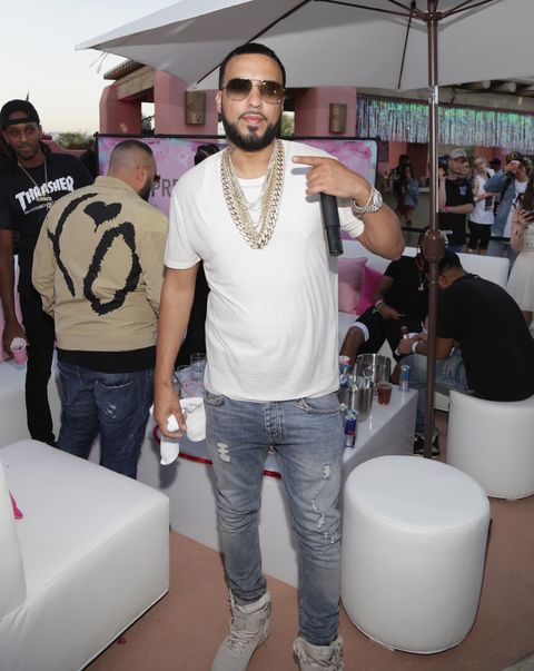 French Montana attends the PrettyLittleThing x Paper Magazine - The Pretty Little Playground on April 14, 2017 in Palm Springs, California.