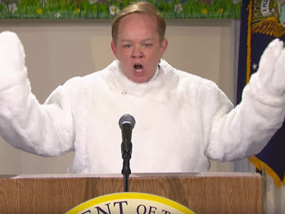 Melissa McCarthy Ridicules Jews as Sean Spicer on SNL (VIDEO)