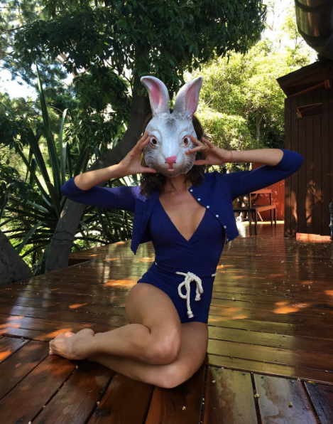 Victoria Beckham got fashion-y with her Easter morning.