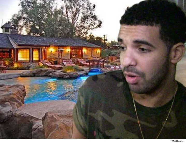 Drake Is The Latest Celeb Whose Home Was Burglarized, But The Criminalu0027s  Booty Totaled Around $10 In Water And Soda.