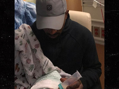 J.R. Smith's Micro-Preemie Baby Takes First Bottle (PHOTOS)