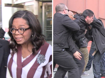 Oprah Rushed Away By Security When Fight Breaks Out Next to Her (VIDEO)