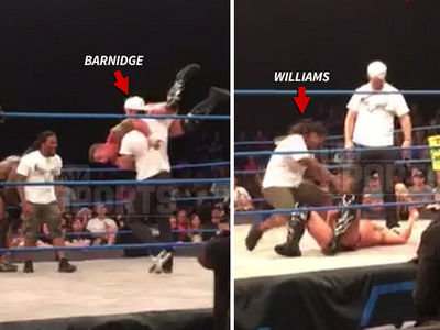 NFL's Gary Barnidge Body Slams Pro Wrestler