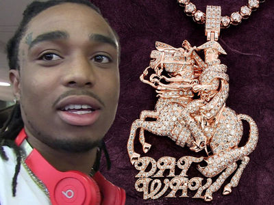 Migos Rapper Quavo Drops $35k On New Napoleon Chain (PHOTO + VIDEO)
