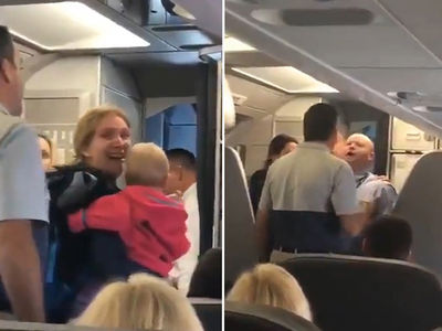 American Airlines Flight Attendant Strikes Mother of Twins with Stroller (VIDEO)