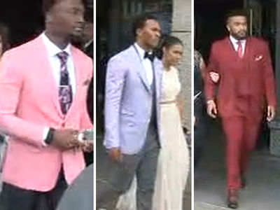 NFL Draft Prospects Show Crazy Fashion Swag Before Big Night