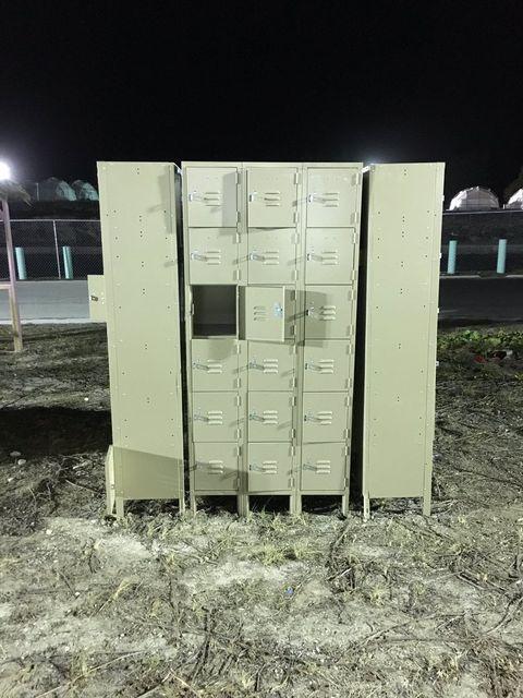 Desolate looking lockers
