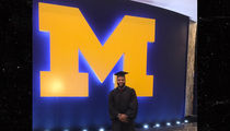 Braylon Edwards Graduates from University of Michigan 12 Years After Going to NFL (PHOTO)