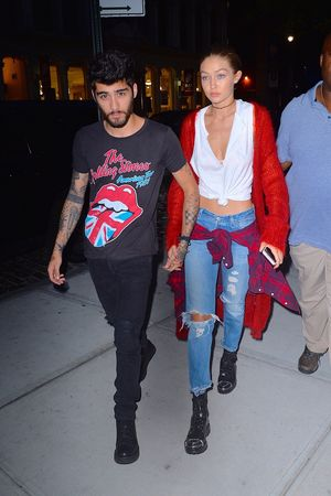 Gigi Hadid and Zayn Malik -- Together Photos