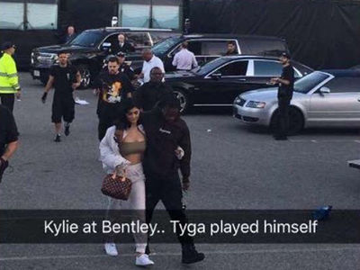 Kylie Jenner Joins Travis Scott for His Show at Bentley University Near Boston (PHOTOS)