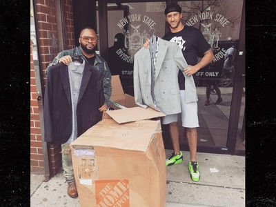 Colin Kaepernick Praised As Hero For Donating 50 Custom Suits To Ex-Cons