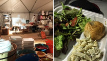Fyre Festival Sandwich Photo Was Staff Lunch, Guests Had Real Food (PHOTOS)