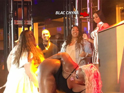 Blac Chyna Judges Twerking Contest in Atlantic City (VIDEO)