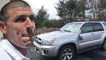 Aaron Hernandez's Alleged 'Murder Car' Hits eBay Auction