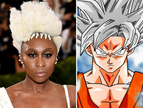Cynthia Erivo going Super Saiyan