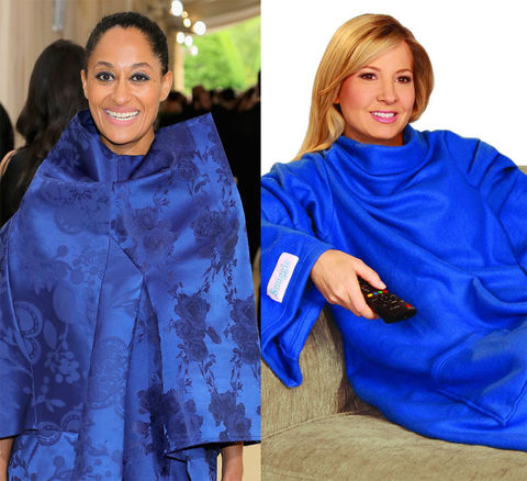 Tracee Ellis Ross and the As Seen on TV Snuggie