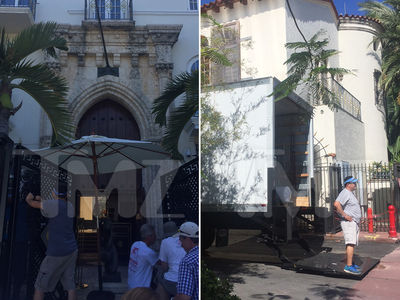 'Versace: American Crime Story' Takes Over Famed Mansion Where He Was Killed (PHOTO GALLERY)