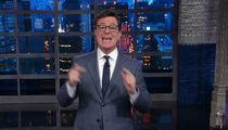Stephen Colbert Ignores 'Homophobic' Criticism, Slams Trump and Putin Again (VIDEO)