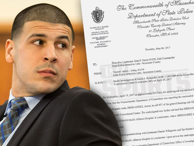 Aaron Hernandez Wrote 'John 3:16' In Blood on Cell Wall (DOCUMENT + PHOTOS)