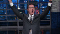 Stephen Colbert Defends Anti-Trump Rant and Discusses Homophobic Comment (VIDEO)