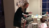 Ivanka Trump's Just Gotta Dance with Her Boys (VIDEO)