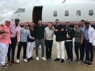 Tom Brady and Patriots Stars Fly to Kentucky Derby on Private Jet