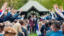 Olympian Tom Daley Marries Oscar Winning Screenwriter at English 'Castle'