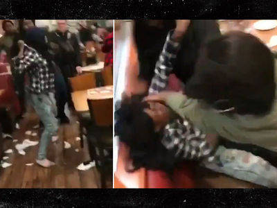 Denny's Fight in New York Goes Viral with Nick Nack Pattiwhack Narrating (VIDEO)