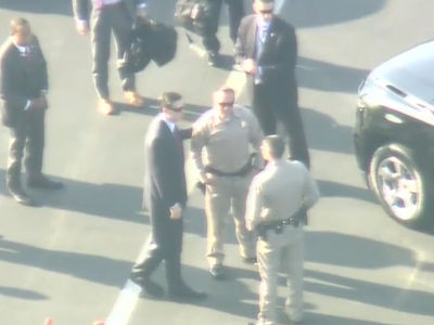 James Comey Flies Out of LAX on a Private Jet (VIDEO)