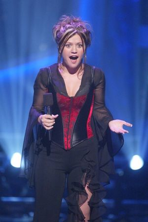Kelly Clarkson on 'American Idol'