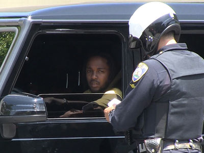 Kendrick Lamar Pulled Over in Beverly Hills, Dodges Ticket (VIDEO)