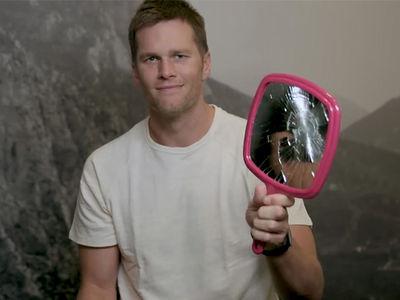 Tom Brady Mocks Madden Curse, Breaks Mirror, Walks Under Ladder (VIDEO)