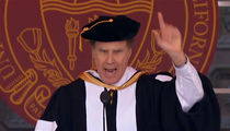 Will Ferrell Delivers Hilarious Commencement Speech at USC (VIDEO)