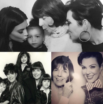 Kris Jenner spent time giving a shout out to her mom.