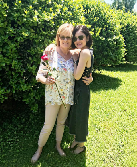 Lucy Hale celebrated Mother's Day with her mom.